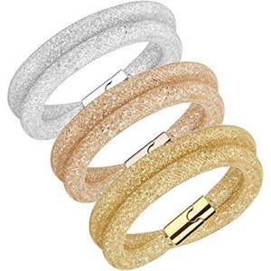 Swarovski Stardust Deluxe Bracelet Set Medium